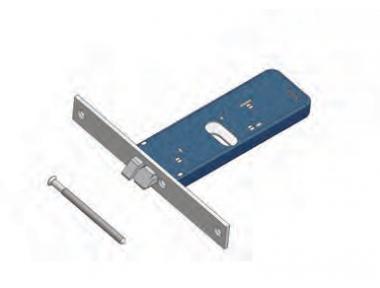 Omec nicht reversibel Fallenschloss Aluminium Range Electric
