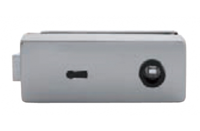 Schloss für Glas Tropex mit Schlüsselloch Tropex 165x65mm