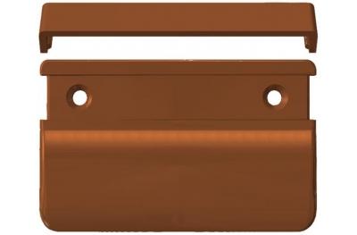 Vierkant-Griff für Französisch Türen Außen 70x50x12 heicko Segatori