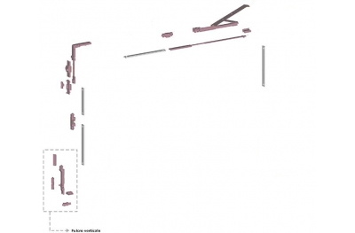 Ribantatre Savio Gruppe Basic R Arm Standard-Fulcrum Vertikal