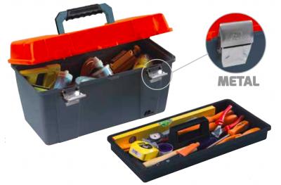 Plano Werkzeugkoffer mit Metallverschlüsse Contractor Line WerkzeugtrÄger