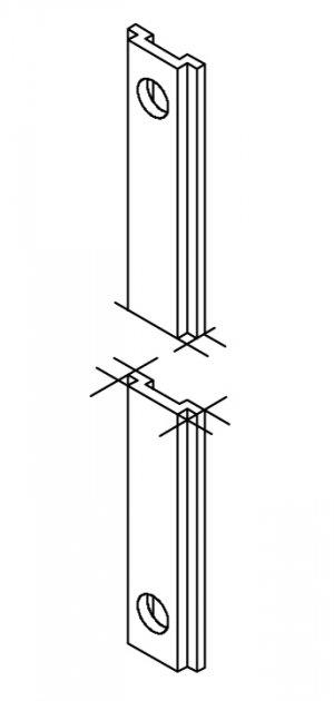 Giesse Verlängerungsstange Bolzen Giap Elettrogiesse 9
