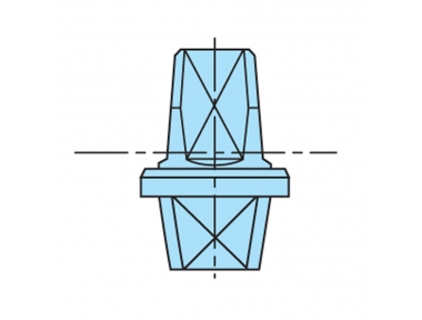Pin Rahmen MAB Italien Schließer Series 7700 Verzinkte
