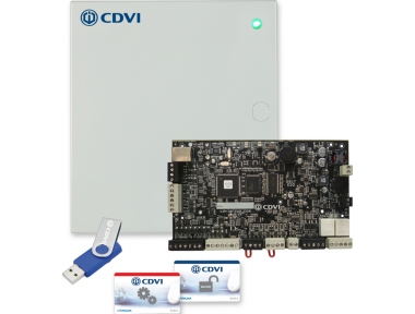 Zentral Hybrid A22 ATRIUM Master oder Slave in Metal Case Access Control CDVI