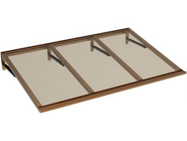 Shelter Lira Copper Bronze Aluminium AMA Sonnenschutz