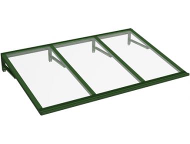 Shelter Lira Green Transparent Aluminium AMA Sonnenschutz