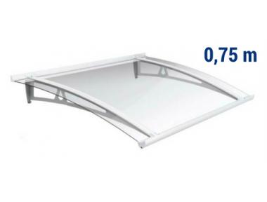 Schutzdach Newstyle NS-01 transparent Projektion 0,75m Royal Pat