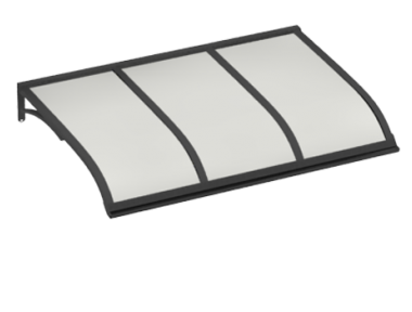 Shelter Segeln Grau Opal Aluminium AMA Sonnenschutz
