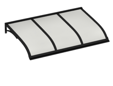 Shelter Vela Black Opal Aluminium AMA Sonnenschutz