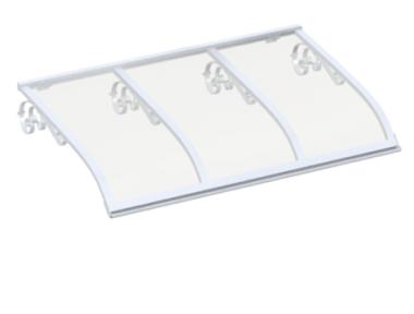 Shelter Sailing Old White Transparent Aluminium AMA Sonnenschutz