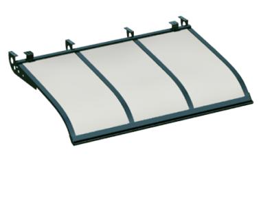 Shelter Segeln Stil Angriff Decken Grün Opal Aluminium AMA