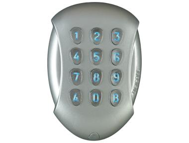 Tastatur Autonome GALEO DIGICODE Retro-Lit 2 Relais in Aluminiumlegierung Access Control CDVI