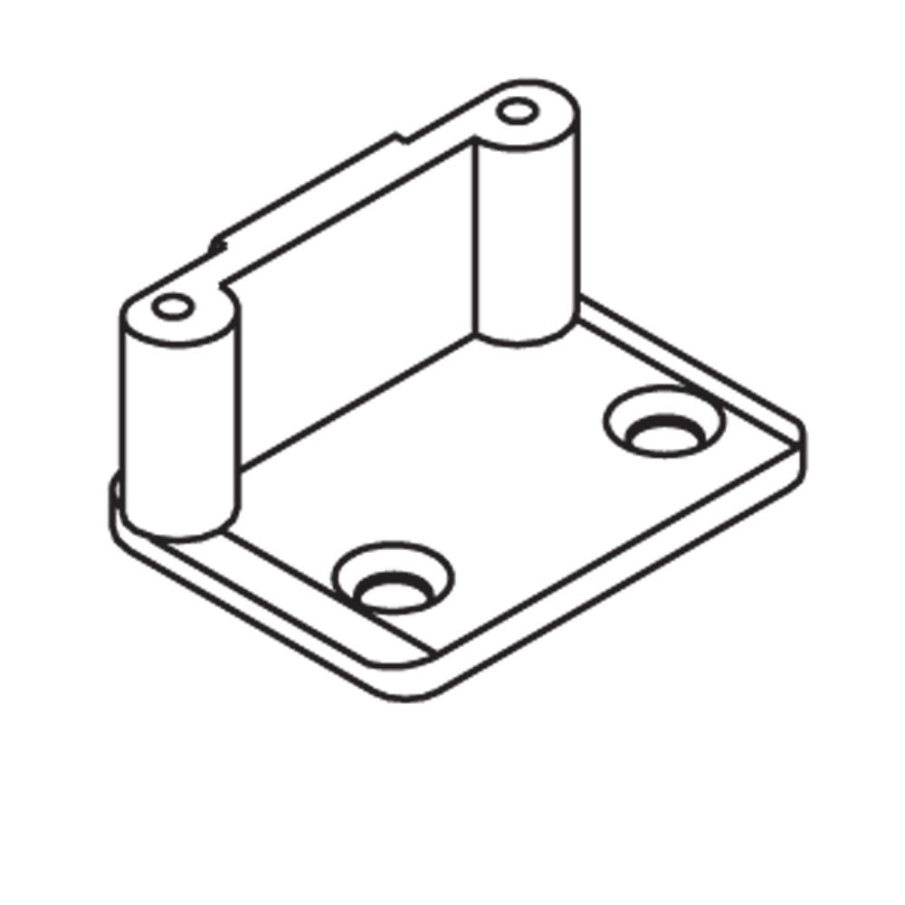 Schliessplatte Angle Art 94165 Abl Pins D 8mm Ohne Anker Mit Schrauben