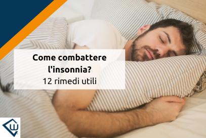 Wie man Schlaflosigkeit bekämpft: 12 nützliche Mittel