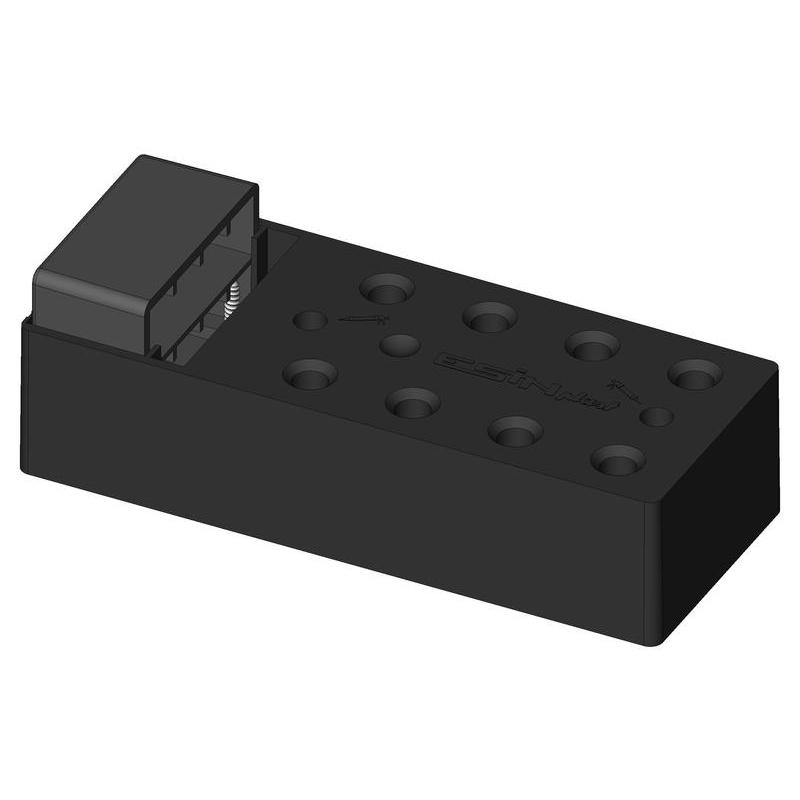 Cardini Montageelement mit Zwickel für Mäntel 80mm ESINPLAST