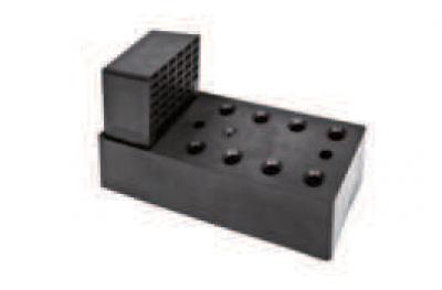 Montageelement Scharniere mit Harz für Mäntel bis 140mm ESINPLAST