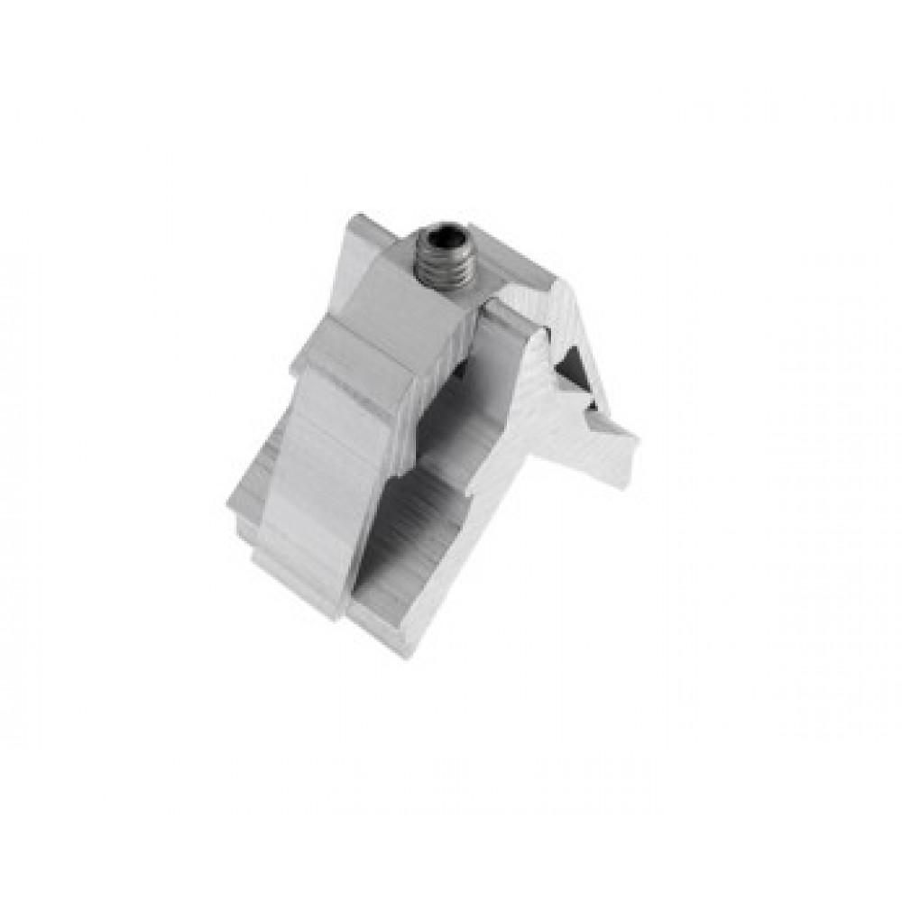 Schraube Halter an Aluminium Alutec
