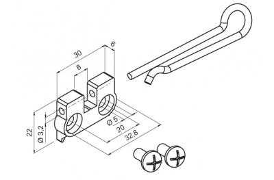 Bracket Anwendung auf einen Motor WAY Mingardi Micro Datei