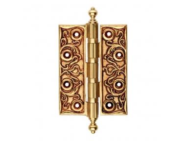 1271 CE Precious Scharnier für Holztür Linie Cali im Barockstil dekoriert