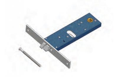 Omec Latch Elektroschloss in Bereich für Aluminium