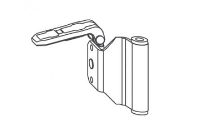 Angle Oblique Scharnierband Siegenia Titan KF-SF