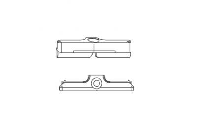Feedback Pawl S 56 Siegenia Titan für PVC-