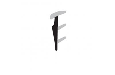 Verglasungsdichtung COMPLASTEX Dicke 2,5 mm Thin Box Coil 200m