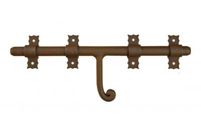 1890 Horizontal Bolzen Galbusera Schmiedeeisen Verschiedene Größen
