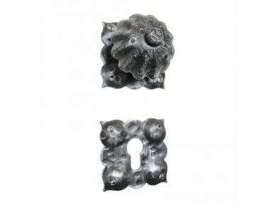 2009 Knob Schmiedeeisen Türen Artisan für Rosetta Lorenz Ferart