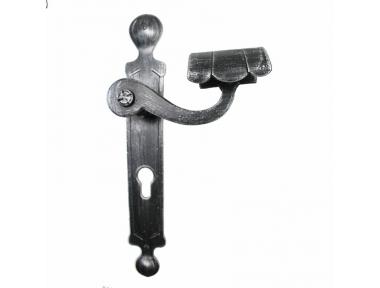 2036 Griff Rundschmiedeeisen Türen für die Platte von Lorenz Ferart