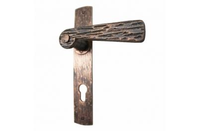 2058 Fälschungs Handle Schmiedeeisen Türen Holzplatte von Lorenz Ferart