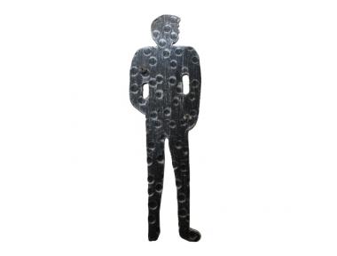 2206 Signalform Schmiedeeisen Mann für Bad Toilette männlich Lorenz Ferart