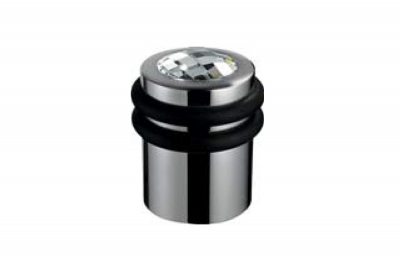 222 FE Luxury Zylindrische Tür Stop Line Calì mit kostbarem Kristall