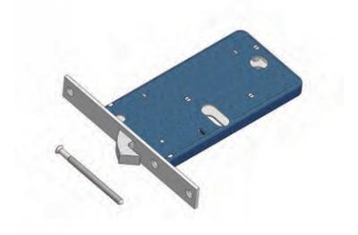 Omec Hakensperrbereich für Aluminium
