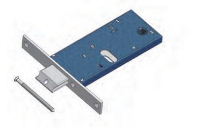 Verstellbare Falle Omec mit Mandatssperre Bereich für Mechanik Aluminium