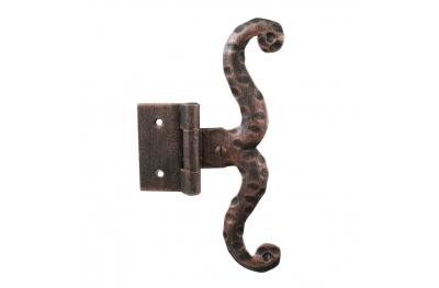3060 Einzel Scharnier für Türen und Möbel Schmiedeeisen Lorenz Ferart