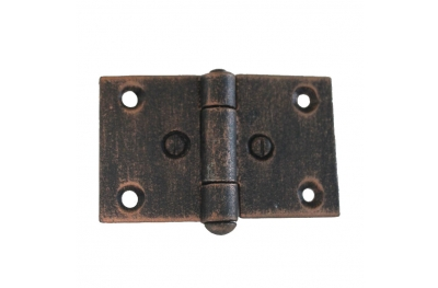 3073 Doppelscharnier für Türen und Möbel Schmiedeeisen Lorenz Ferart