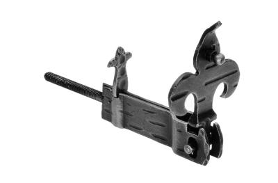 315/V Shutter Halter Giglio 90x30x18mm Galbusera Schmiedeeisen