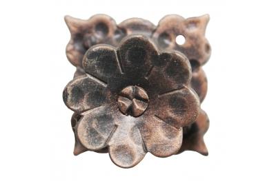 3186 Knob Blume mit Blütenblätter Schmiedeeisen Möbel für Lorenz Ferart