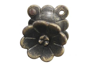 3188 Knob Schmiedeeisen Blumen für Möbel Lorenz Ferart