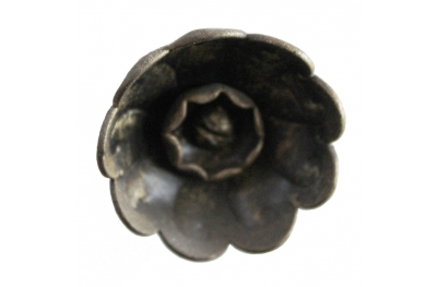 3218 Knob Blumen-Rosette Schmiedeeisen Möbel für Lorenz Ferart