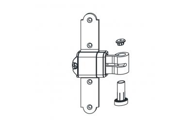 Querstreifen ABl Steel Elbow Fester Winkel Ohne Unterstützung