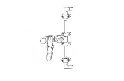 Tit ABl Griff Lange 1-2 mit Ante Griffe h = 15mm Ohne Auktions