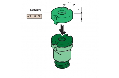5mm dick Proni für Abstandhalter Kompatible Serie 600 und 800