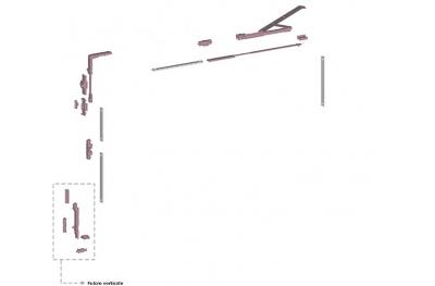Ribantatre Savio Gruppe Basic R Arm Pivot Short Vertikal