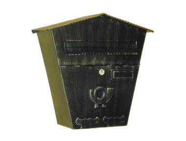 6022 Mailbox Schmiedeeisen Craft Porta Umschläge und Zeitungen Lorenz