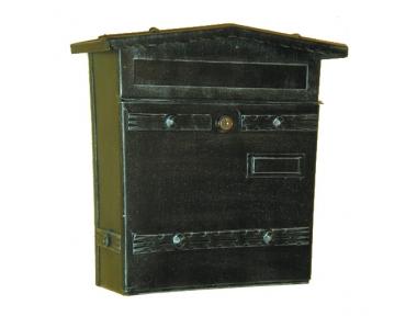 6023 Mailbox Schmiedeeisen Craft Porta Umschläge und Lorenz Zeitungen
