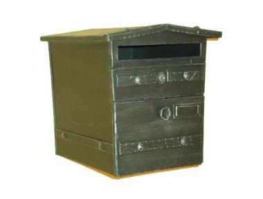 6026 Mailbox Geräumiger Schmiedeeisen Craft Lorenz Ferart