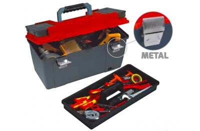 652 Plano Werkzeugkoffer mit Metallverschlüsse Contractor Line WerkzeugtrÄger