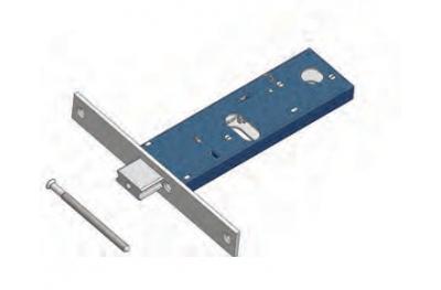 Einstellbare Riegelschloss für Omec Bereich Mechanik Aluminium